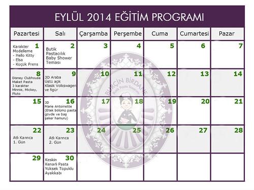 Eylul 2014 Egitim