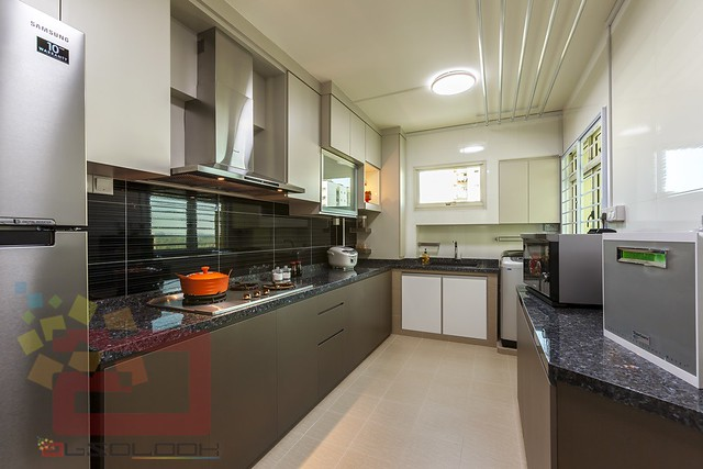 Hdb resale blk 126a edgedale plains 2 x 5 room combined for Best color for kitchen cabinets for resale