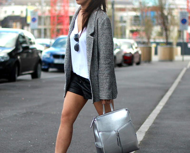 Article 21 Fashion & Style Blog, New Look Silver Backpack, New Look Front Zip Backpack, New Look Bags, How to Style a Backpack, New Look Bag Giveaway, Blog Competitions, Blog Giveaways, uk fashion blogger, top uk blogs, best uk fashion blogs, british fashion blogs, uk chinese blogger, manchester fashion blogger