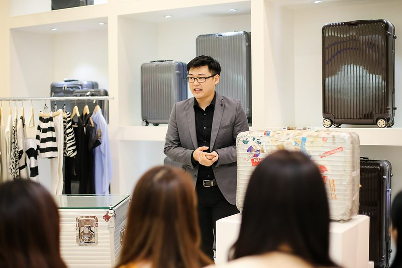 BRAND INTRODUCTION BY RETAIL MANAGER RAYMOND LEE