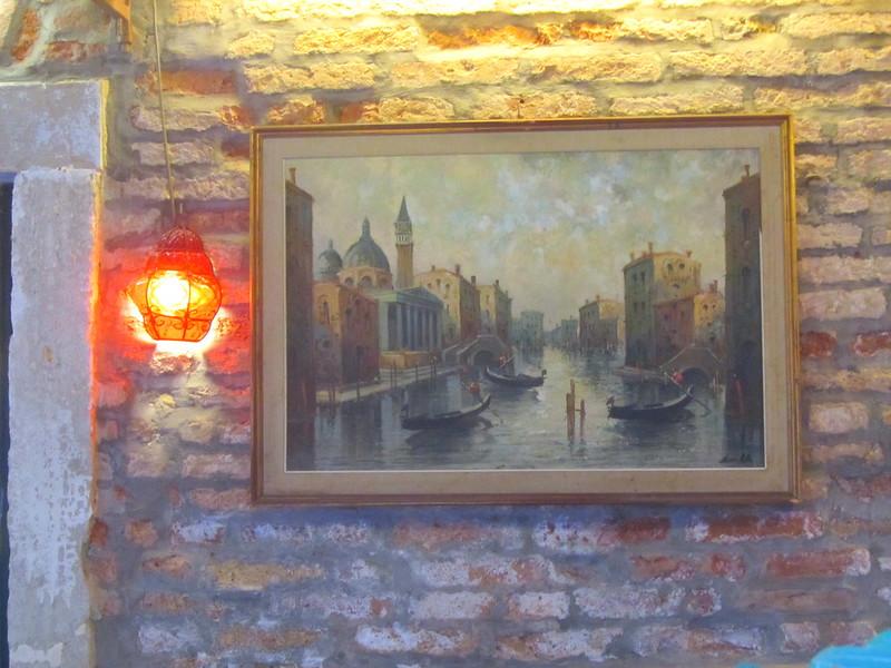 Cuadro de Venecia en Venecia