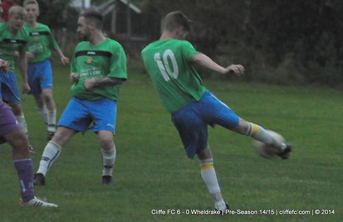 Cliffe FC 6 - 0 Wheldrake 2Sept14