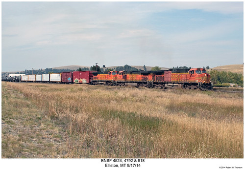 railroad train montana diesel railway trains locomotive trainengine ge bnsf elliston dash8 dash944cw dash9 c408w c449w c408 sixaxle burlintonnorthernsantafe