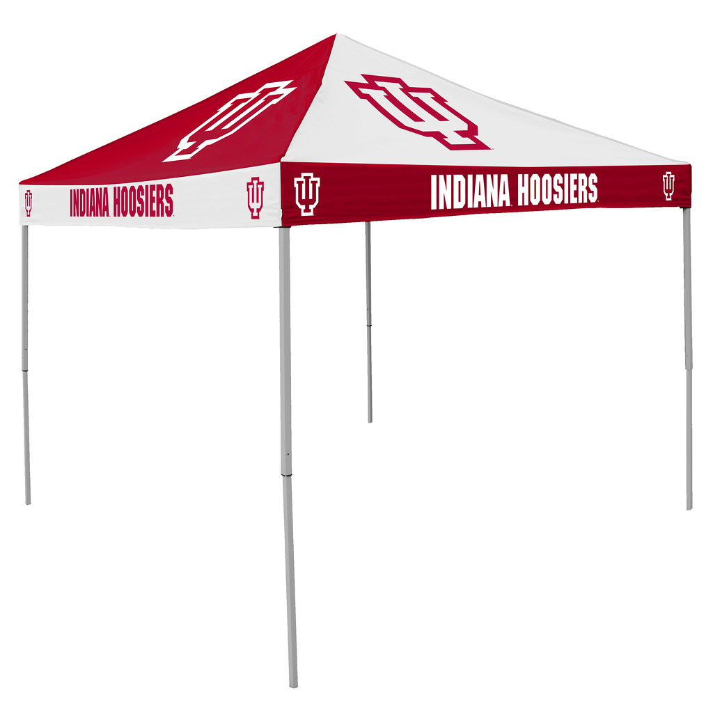 Indiana Hoosiers Checkerboard Tailgating Tent  sc 1 st  Tailgatorz & Indiana Hoosiers Checkerboard Tailgating Tent Easy Up Shelter ...