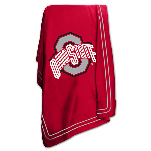 Ohio State Buckeyes NCAA Classic Fleece Throw