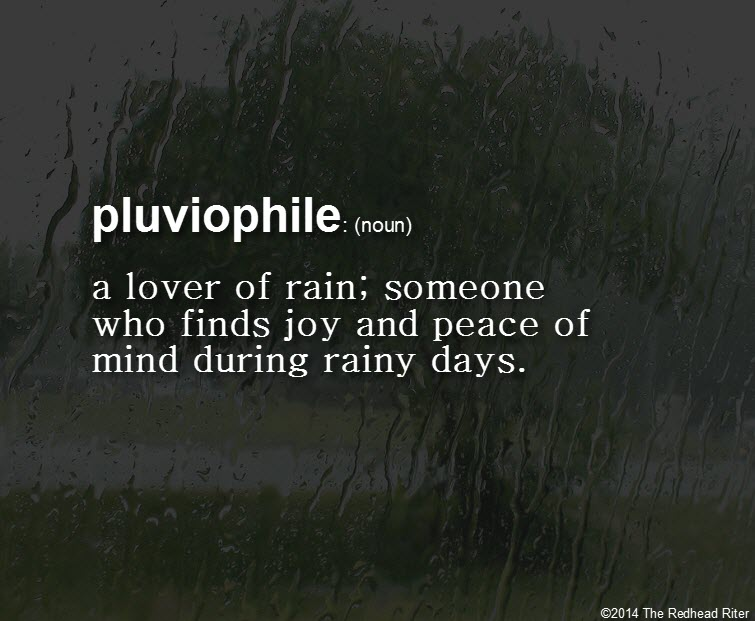 Cuddle And Dance With A Redheaded Pluviophile