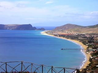 Vista general de la costa.