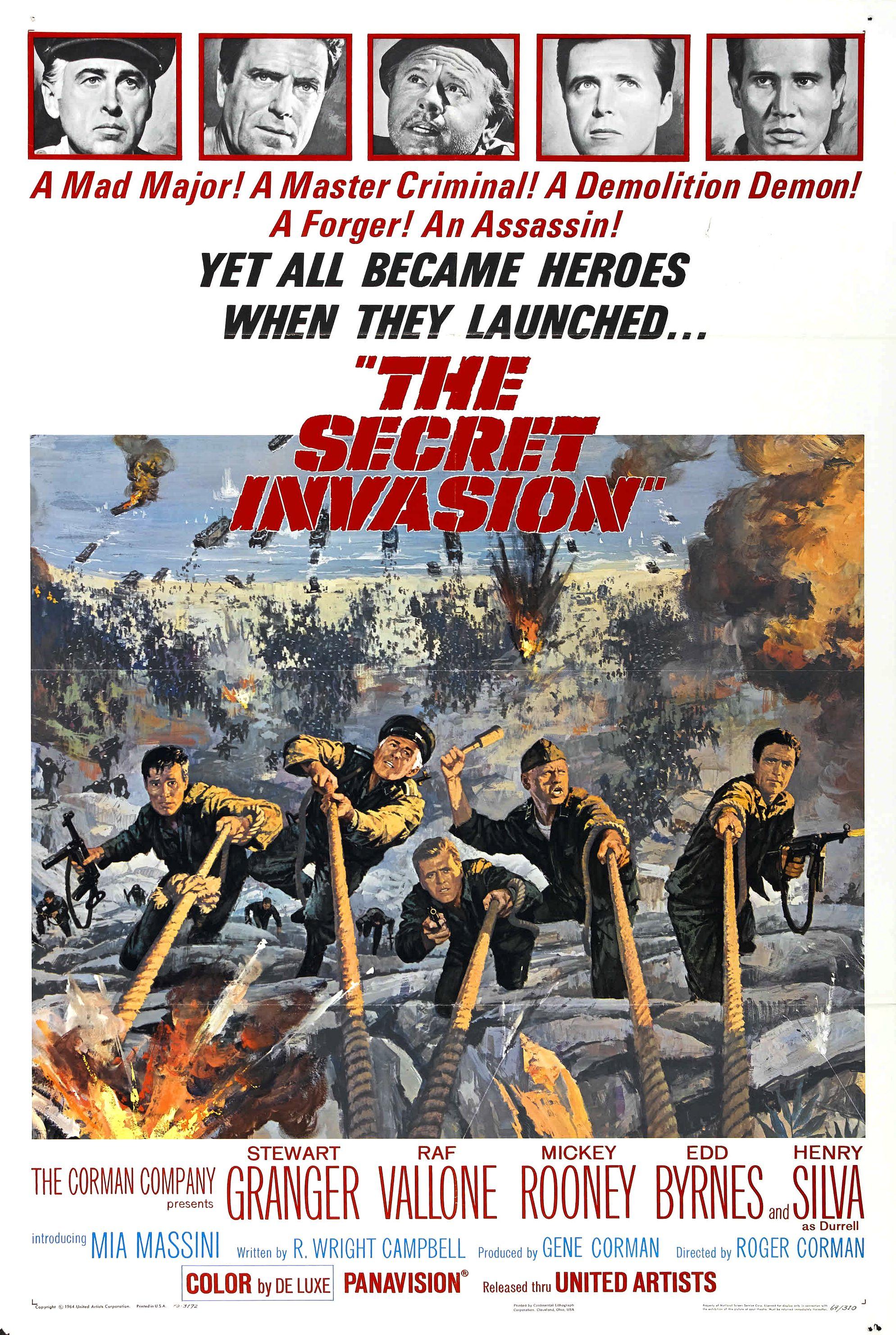 The Secret Invasion (1964)