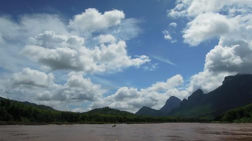 river nikon day cloudy laos province luangprabang 2014 namou p300