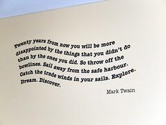 Twenty years from now ...