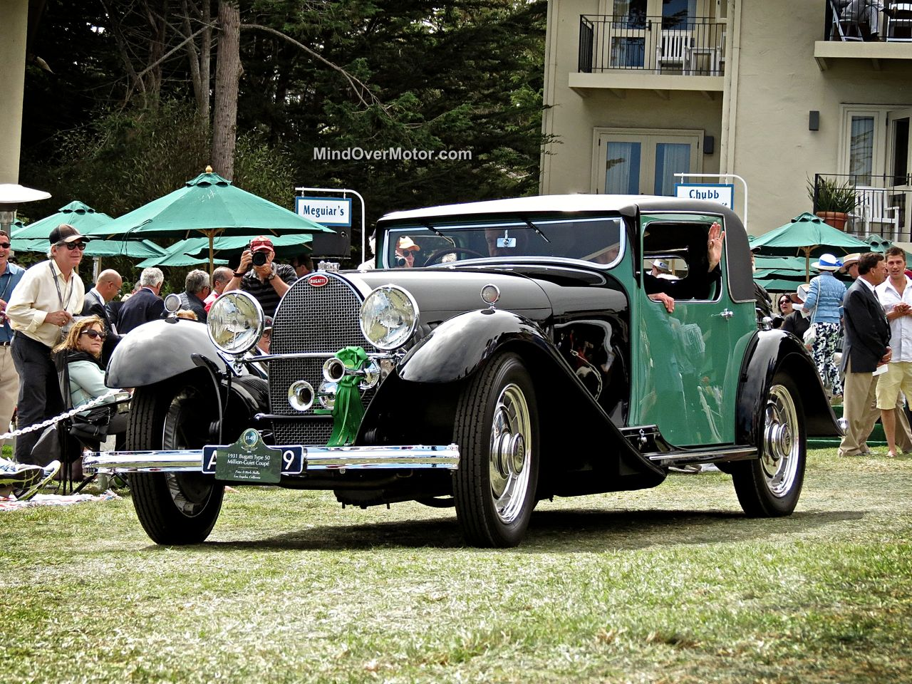Pebble Beach 2014-Bugatti Type 50