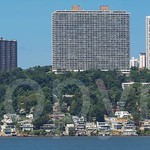 Fort Lee Skyline and Edgewater Colony on the Hudson River, New Jersey
