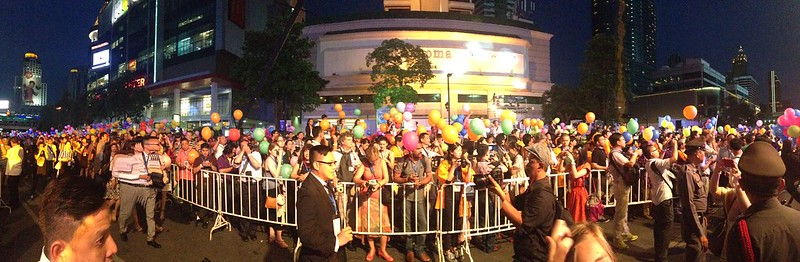 Thailand happiness street festival