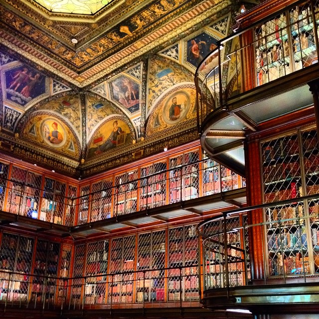 An amazing collection library of antique books #nyc #midtown