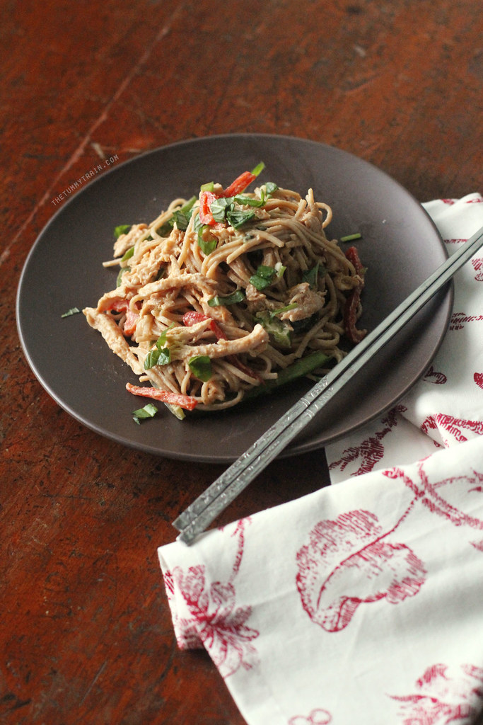 15224741716 c2157ac4f4 b - This 20-Minute Spicy Peanut and Chicken Soba is the bomb