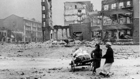 Civiles en Stalingrado