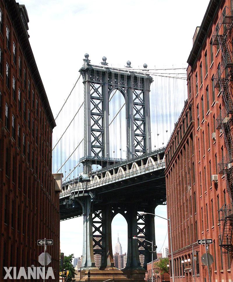 Puente de Manhattan en Brooklyn