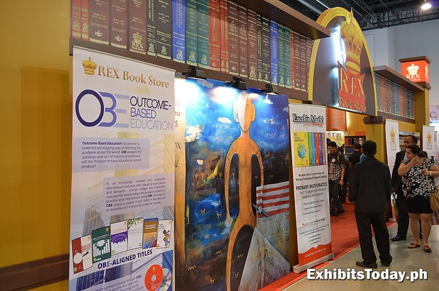 REX Publishing booth
