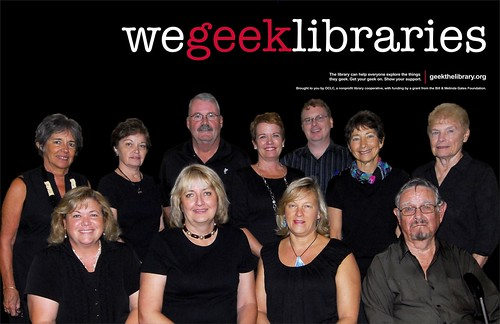 We geek libraries
