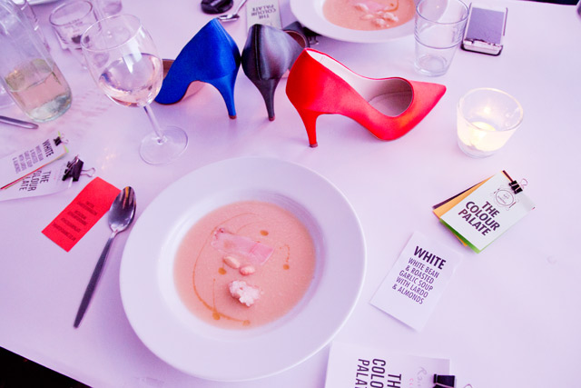 The Colour Palate dining experience