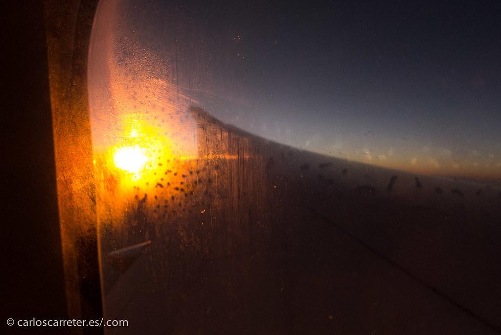 El último sol antes de entrar en Asia