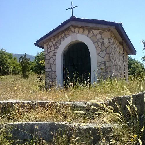 #chiesetta dedicata  a #santantonio #valley #marsica