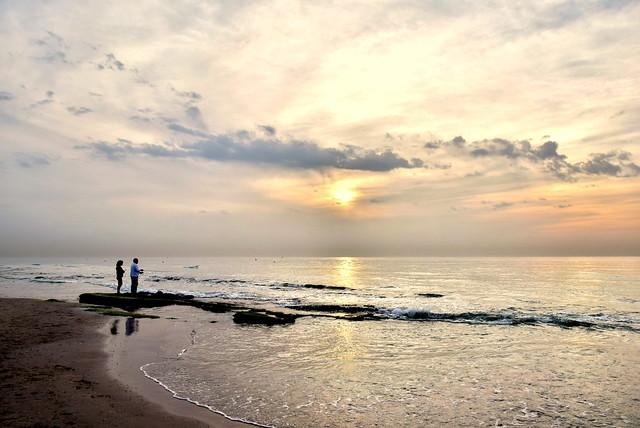 Romantic sunset.....