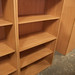 €150 oak open tall bookcase 4 shelf new stock