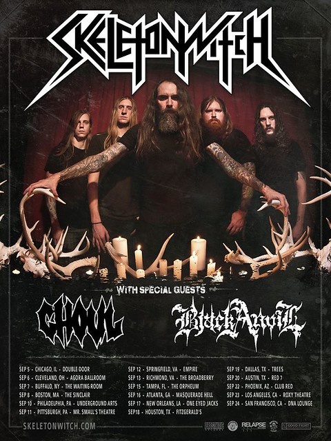 Skeletonwitch at Empire