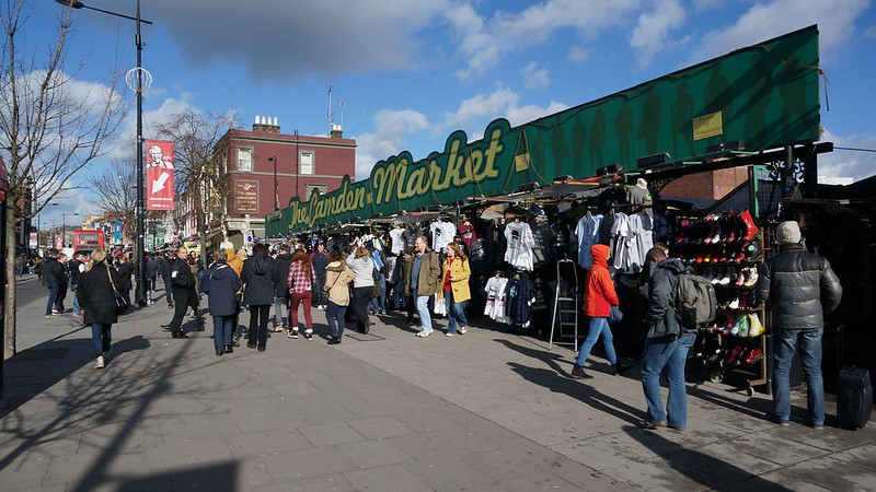 London: Interesting Camdem Town & Market
