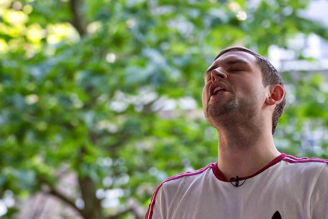 172/365 - The Twilight Sad at Bandstand Busking at Northampton Square 21st June 2014