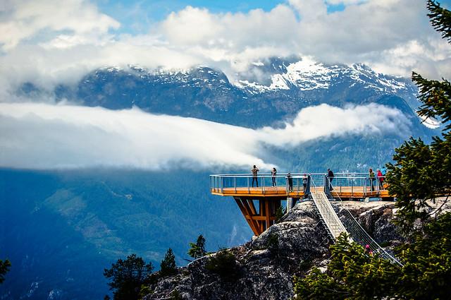 Summit Lodge Viewing Deck (Sea to Sky Gondola)