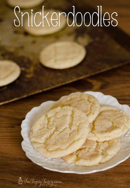 An amazing cookie recipe for delicious snickerdoodles