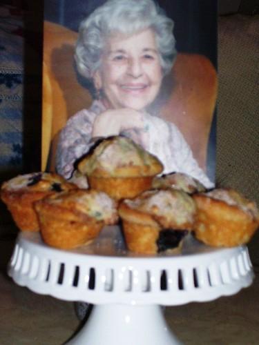 Grandma & Blueberry Muffins