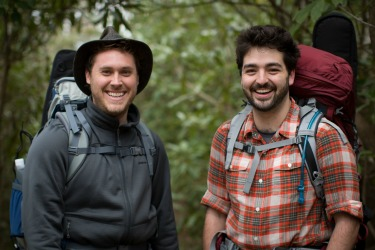 The Okee Dokee Brothers backpacking