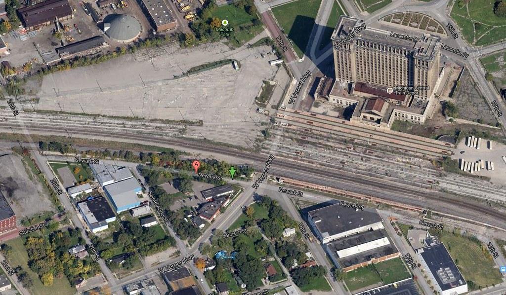 Newark St Detroit MI