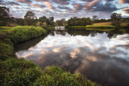 morning trees winter lake tree water grass clouds sunrise canon landscape day cloudy fig sony overcast australia brisbane queensland 1740mm reflextion a7r