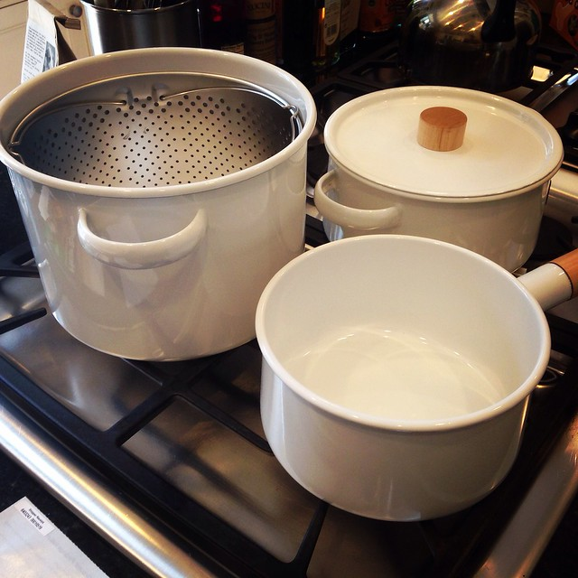 Yay! My new pots and pans for Peace House arrived!