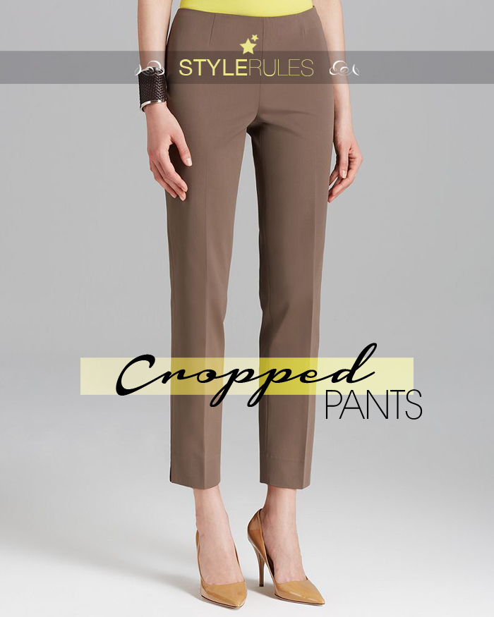 style rules barbara crespo tips cropped pants fashion blogger outfits blog de moda trends