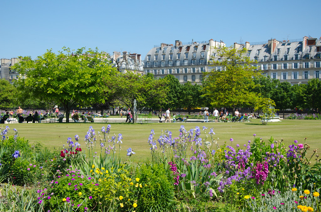 Au jardin des tuileries et si on se promenait for Au jardin paris