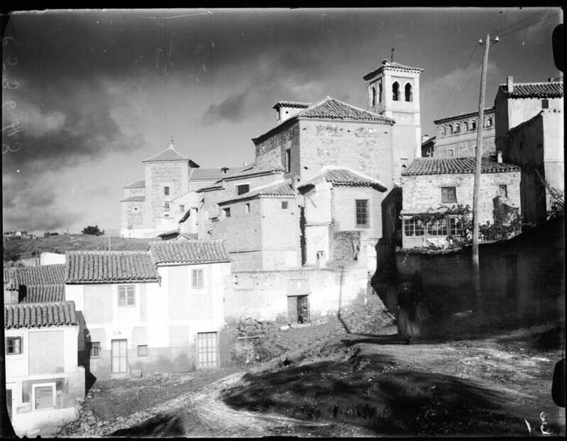 Iglesia de San Cipriano a comienzos del siglo XX © MECD, Fototeca del IPCE, signatura VN-11169_P