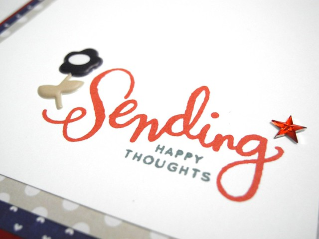 Sending Happy Thoughts (detail)