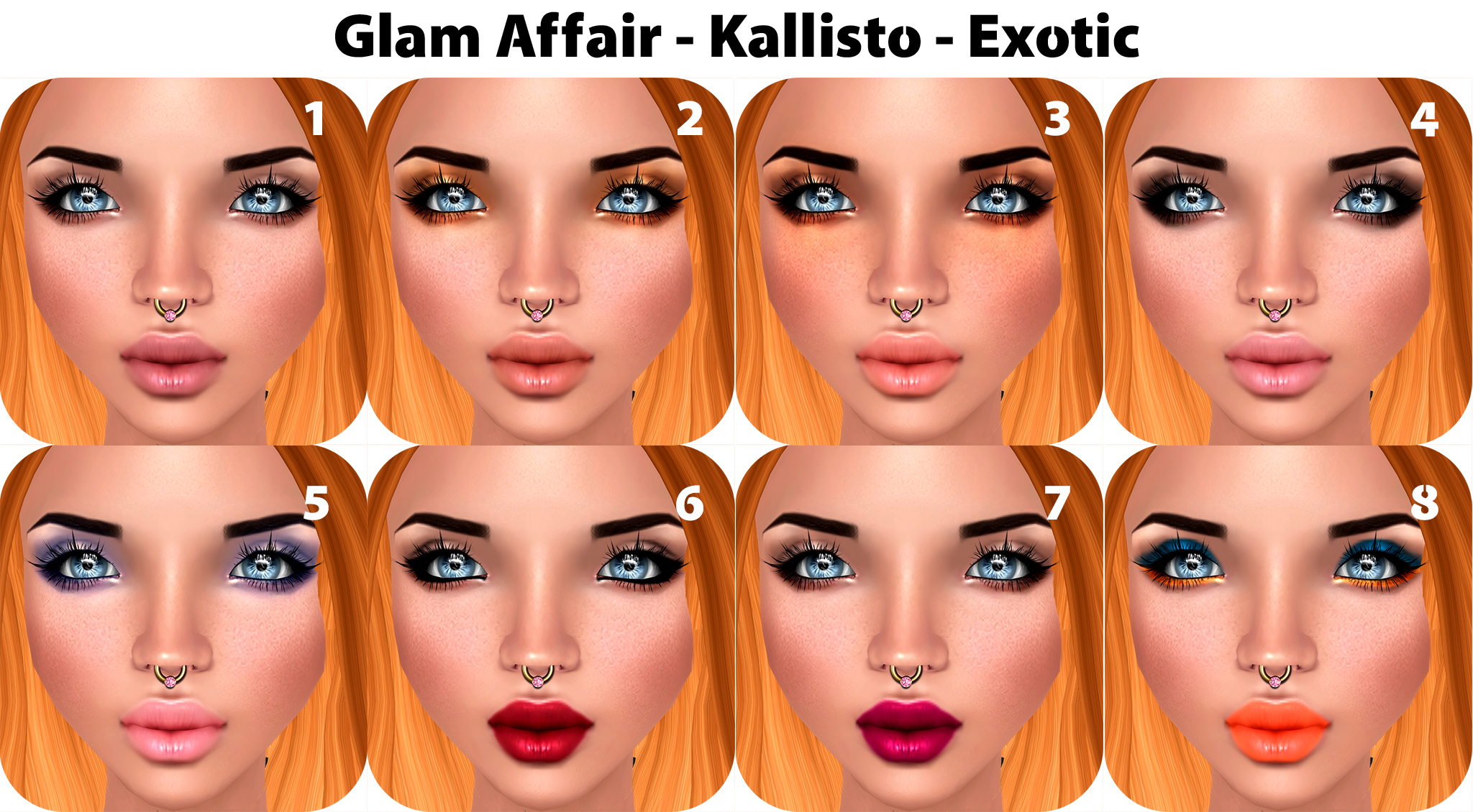Glam Affair Kallisto Exotic for C88