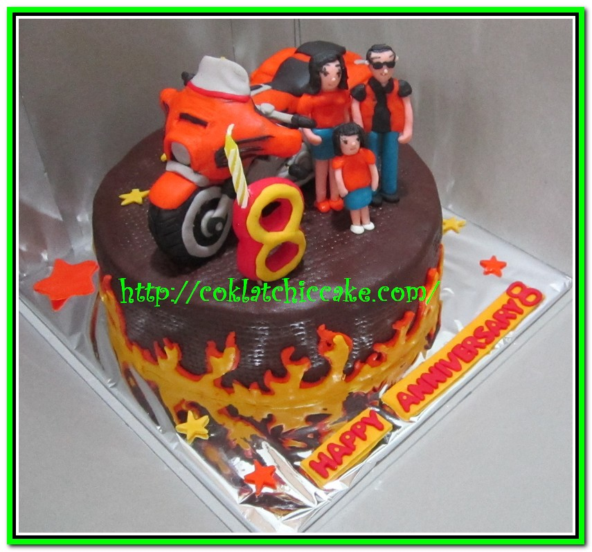 Konsep 38 Kue Ulang Tahun Gambar Motor Cb