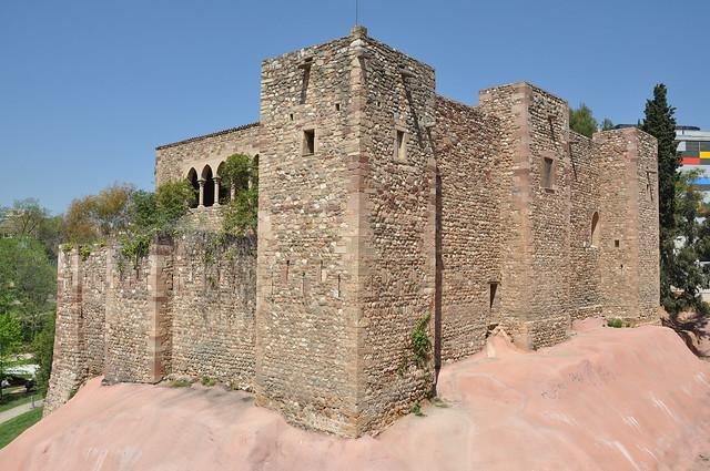 Terrassa, castell cartoixa de Vallparadís