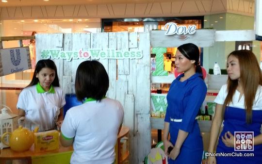 Dove Wellness Booth