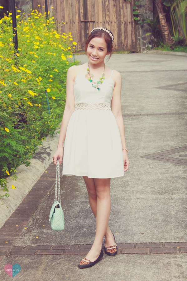 shai lagarde shailagarde love chic lovechic fashion blog blogger philippines asian street style white dress leopard print flats summer casual floral headband forever21 chic garden lookbook chictopia tumblr outfit 3