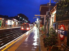 Epping Station, end of the Central Line
