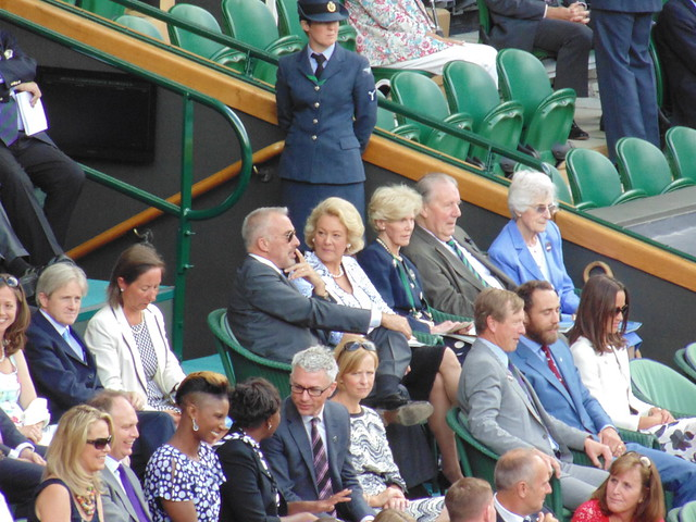 Denise Lewis, Jonathan Edwards, James and Pippa Middleton