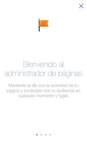 Actualización App Administrador Facebook